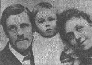 Mr. Albert Broadbent,  avec sa famille végétarienne