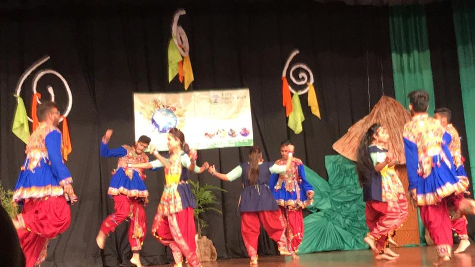 Indian dance.