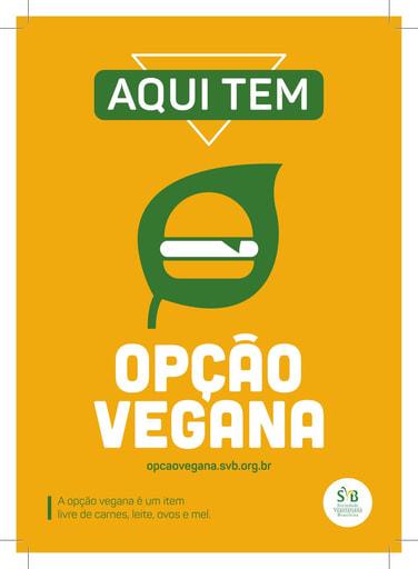 Vegan Option Campaign sticker
