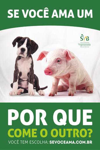 Meat Free Monday Campaign - Dog Pig Ad 2014