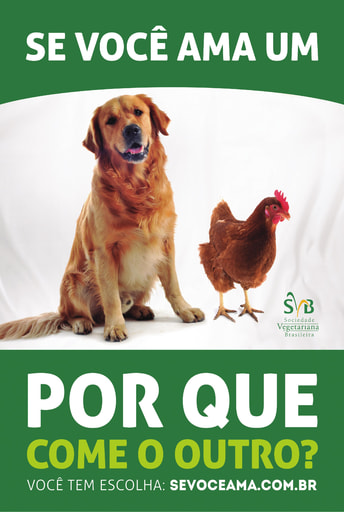 Meat Free Monday Campaign - Dog Chicken ad 2014
