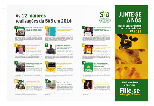 Ad 12 greatest realizations of SVB in 2014 double page