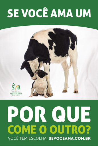 Meat Free Monday Campaign - Dog Cow Ad 2014